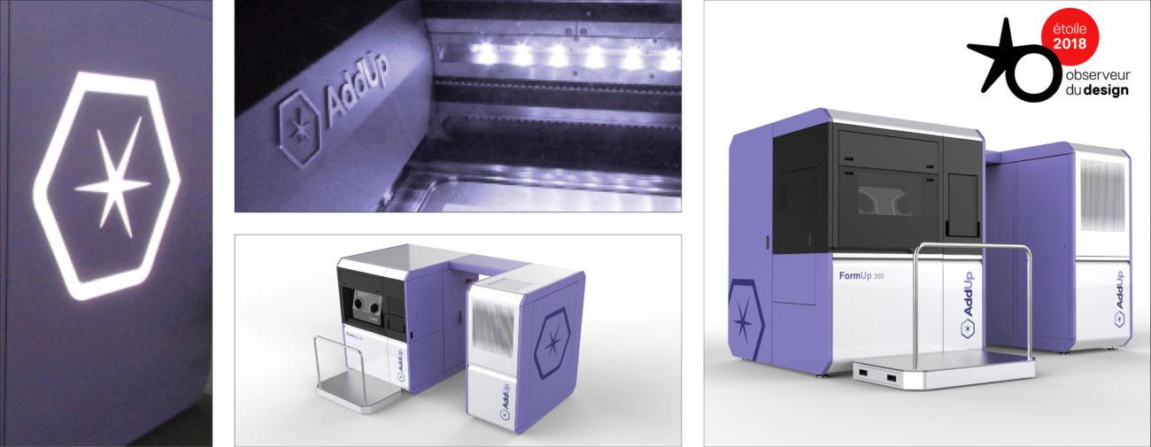 AddUp, Axena Design équipements industriels