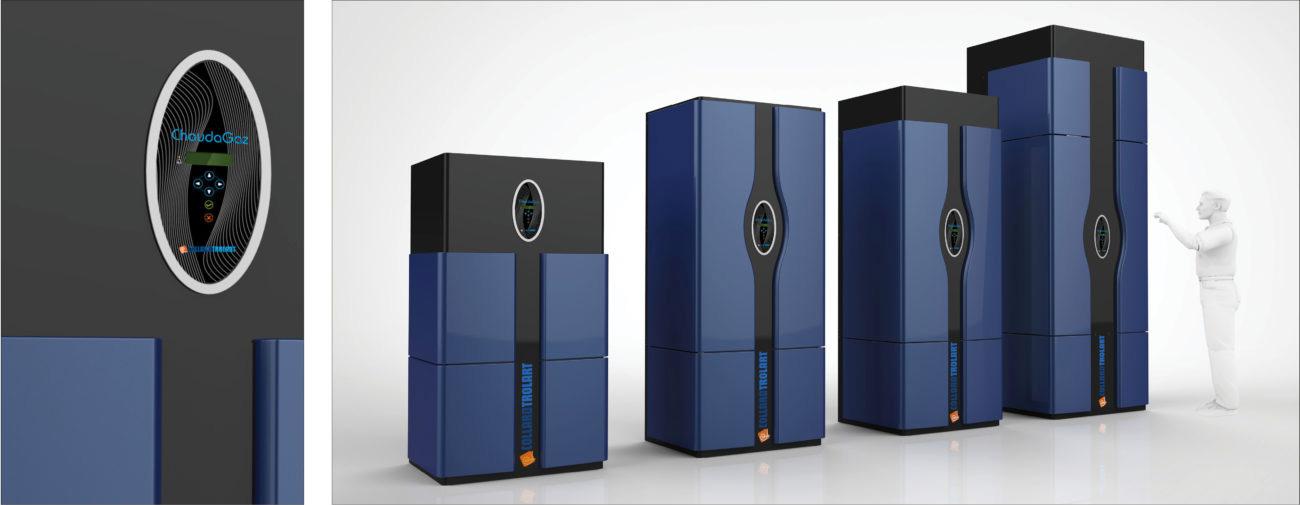 Collard Trolart, Gamme de chaudières à gaz, Axena Design Equipements industriels