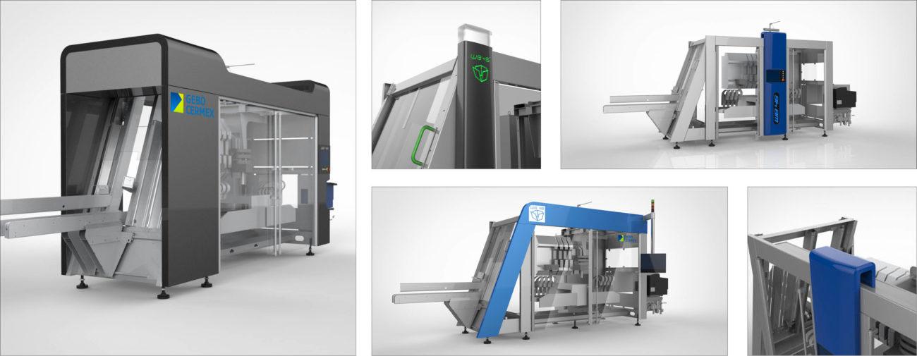 Gebo Cermex, Axena Design équipements industriels