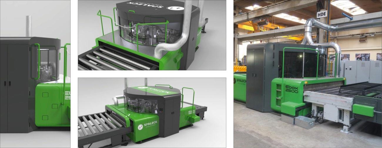 Spaleck Industries, Ebavureuse Ebox 2500 - Axena Design Equipements industriels