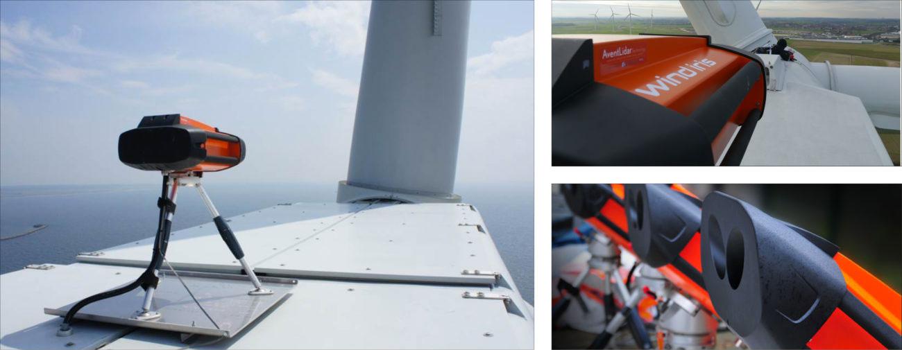 Avent Lidar, Système de diagnostic éolien, Terminal et IHM de l'application - Axena Design