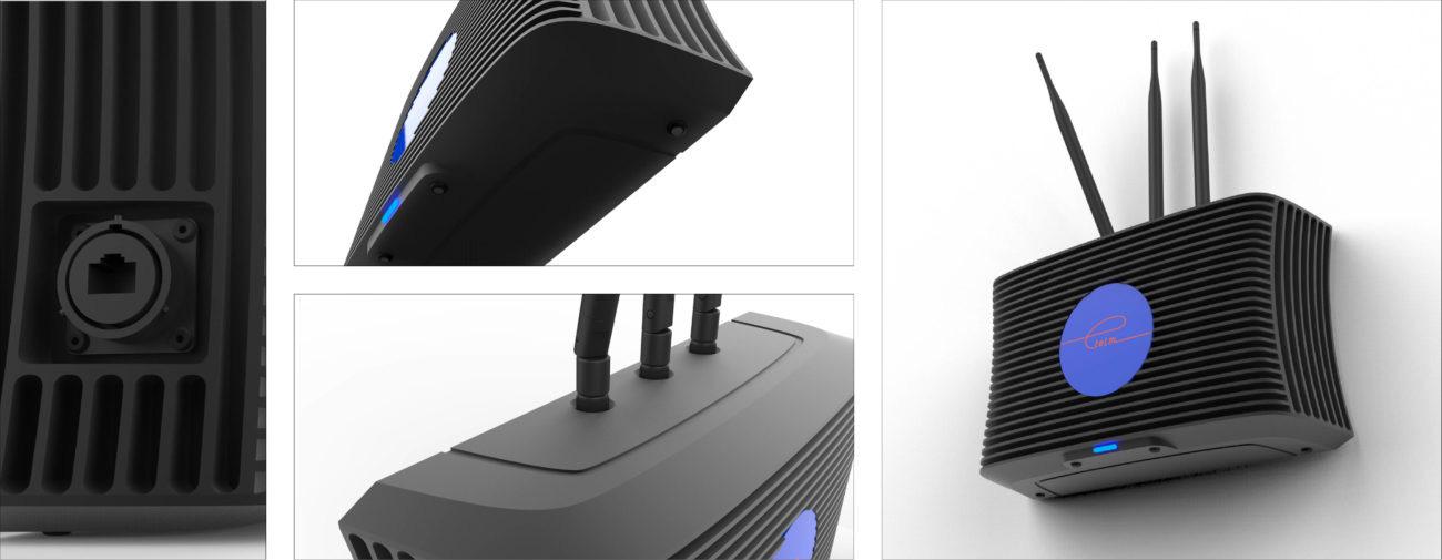 Etelm, Stations de base NeTIS-BOX portable - Axena Design Produits professionnels