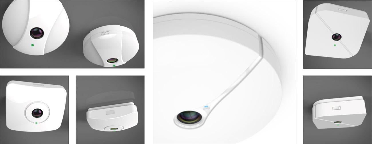 Eurecam, Capteurs de comptage de personnes, Axena Design Produits professionnels