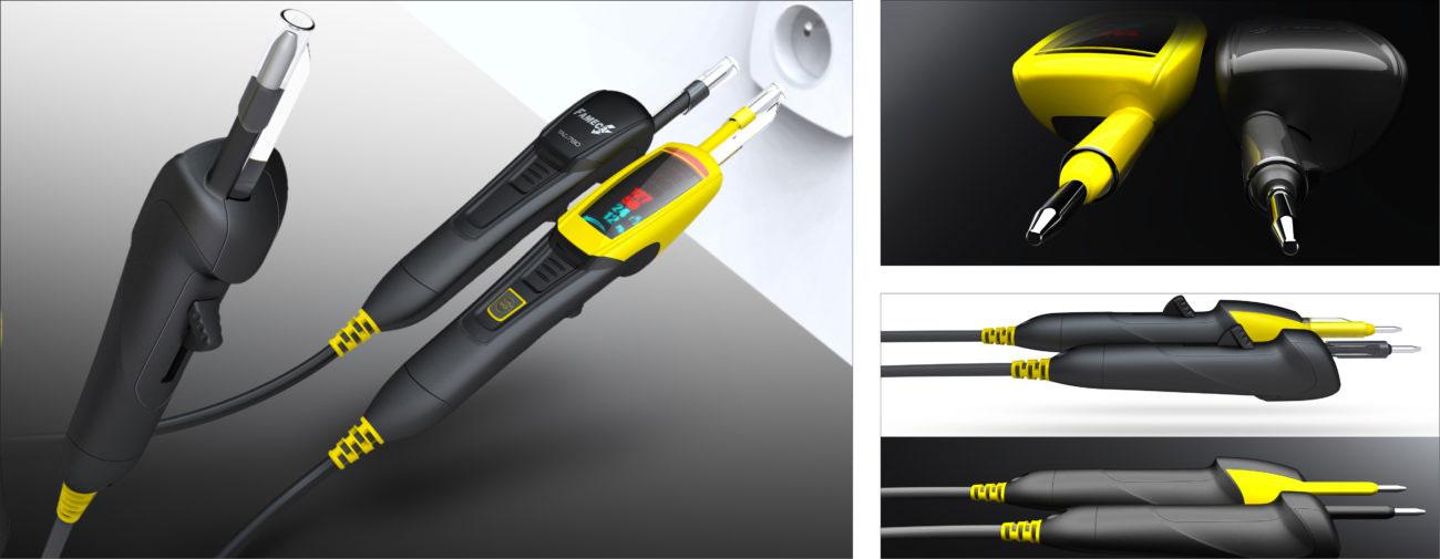 Fameca, Testeur de tension - Axena Design Produits professionnels