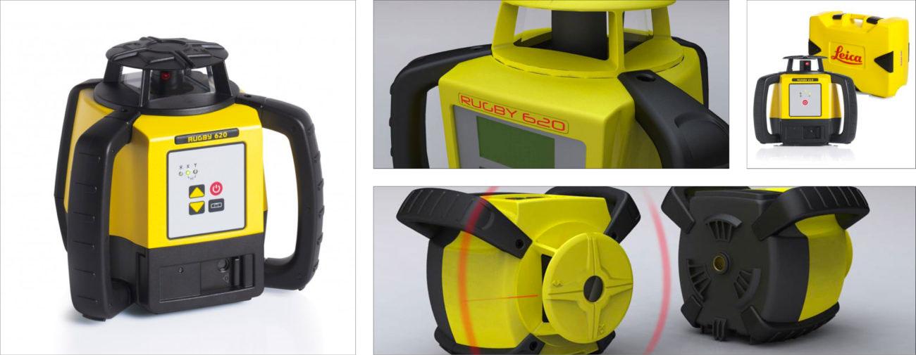Leica, Laser rotatif professionnel, Axena Design produits professionnels