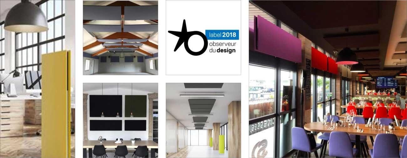 Wellko, Solutions acoustiques hautes performances et éco-responsables - Axena Design Produits professionnels