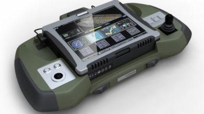 Atermes, Station d'accueil, Console de pilotage de drone ou système de surveillance, Ordinateur durci - Axena Design