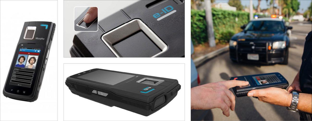 Coppernic, Terminal mobile d'identification biométrique sécurisée - Axena design sécurité - Défense
