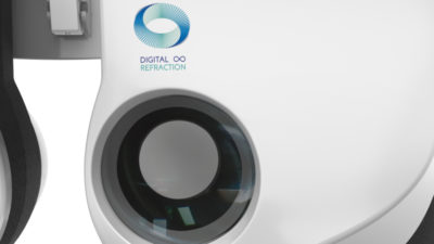 Essilor, Phoropter, console praticien et IHM - Axena Design Univers médical et design digital