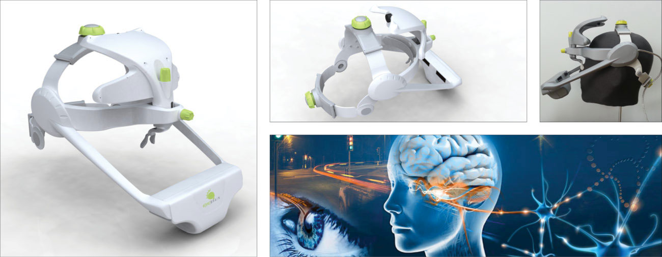 Eyebrain, Suricog, instrument de diagnostic neurologique - Axena Design Univers médical