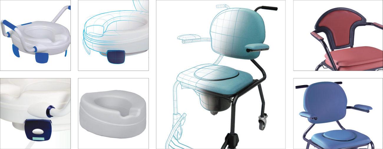 Herdegen, Aides à la marche, Accessoires de salle de bain, Equipement de la chambre, Orthopédie - Axena Design Univers médical