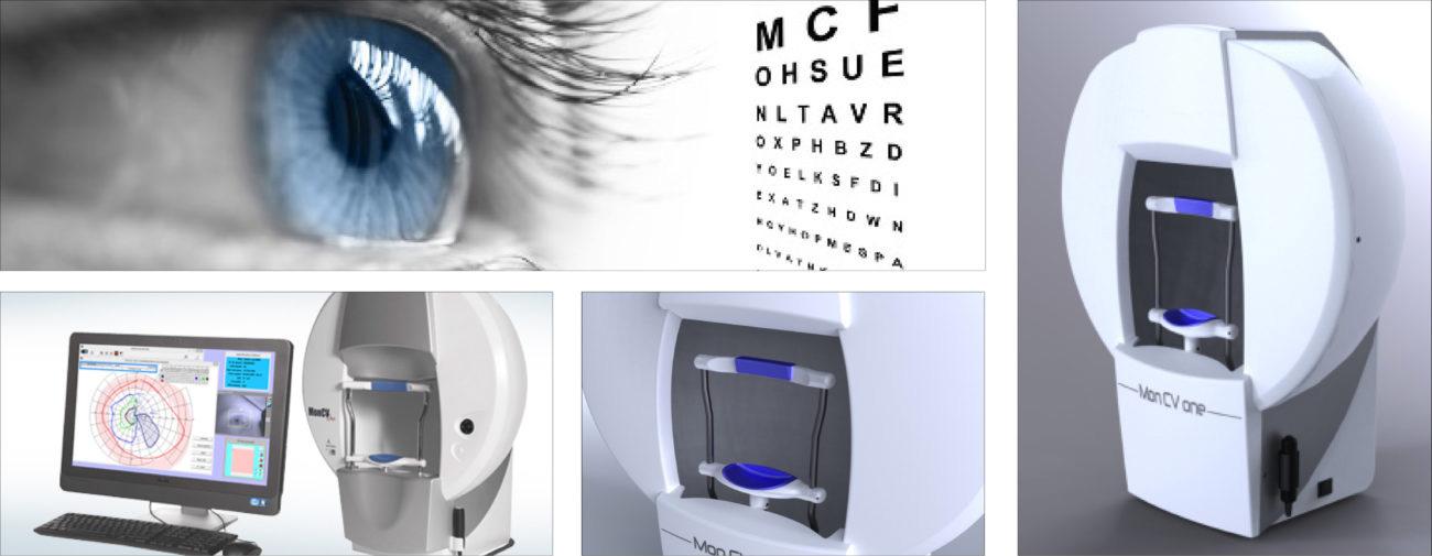 Metrovision, Instrument d'analyse du champ visuel - Axena Design Univers médical