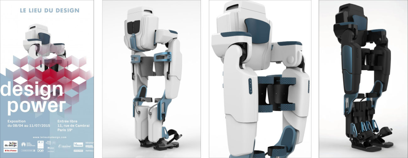 Wandercraft, Exosquelette autonome, Axena Design Univers médical
