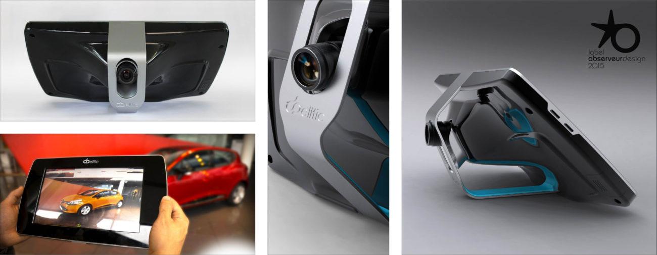 Diota, Supports tablettes, Systèmes d'affichage à réalité augmentée - Axena Design Objets connectés