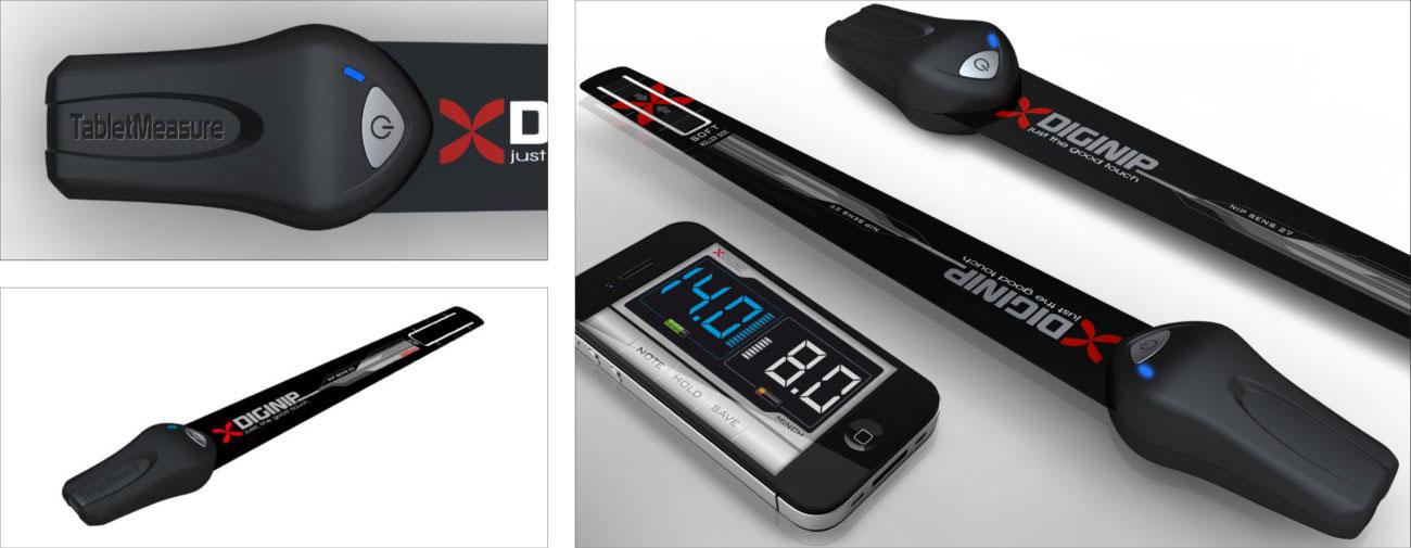 Krier, Terminal de mesure digitale, Axena design Objets connectés, Design digital