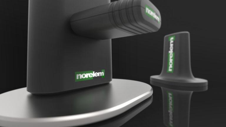 Norelem, Capteur de mesure sans fil, antenne et station d'accueil - Axena Design Objets connectés et produits professionnels