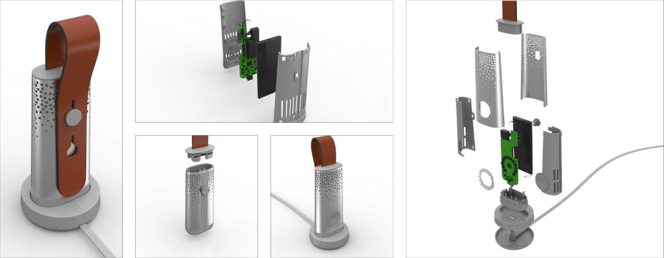Plumelabs, Capteur de pollution atmosphérique mobile - Axena Deign Objets connectés