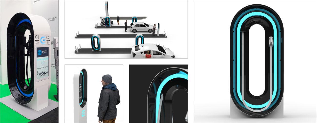 Electric Loading, Système de recharge ultra-rapide pour véhicules électriques - Axena Design Produits grand public