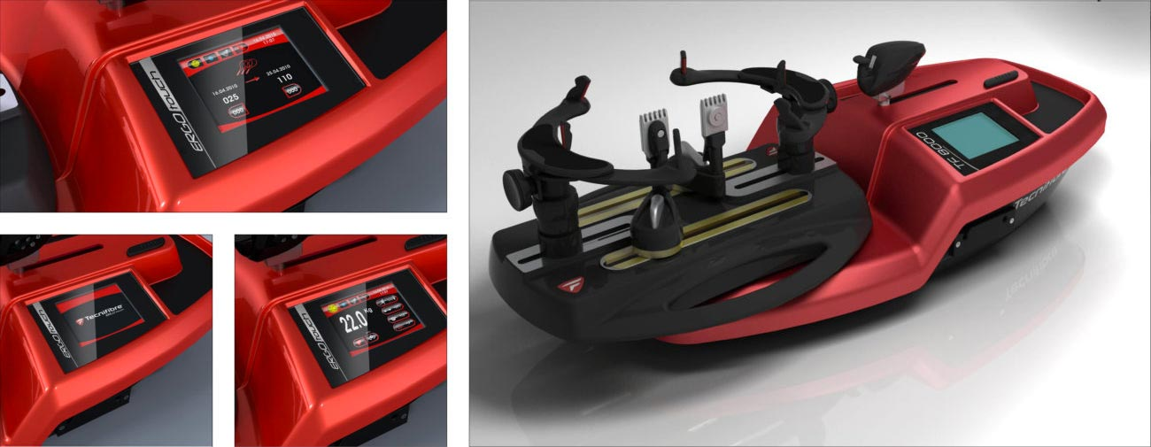 Tecnifibre, Raquettes squash et tennis, Protections de cadre, Plots antivibratoires, Machines à corder - Axena Design Produits grand public