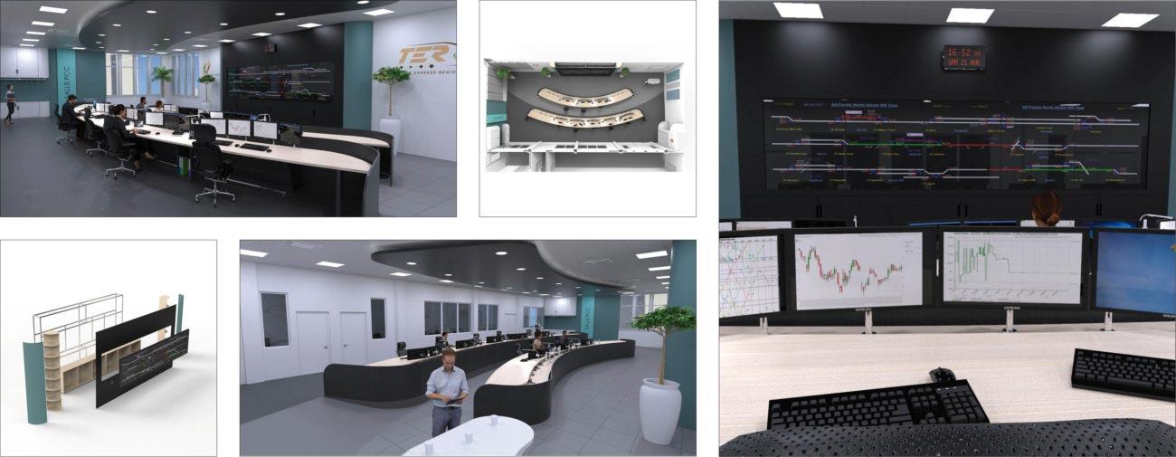 Engie - Ineo, Ergonomie et aménagement du Poste de Contrôle du métro de DAKAR - Axena Ergonomie et Design d'espaces