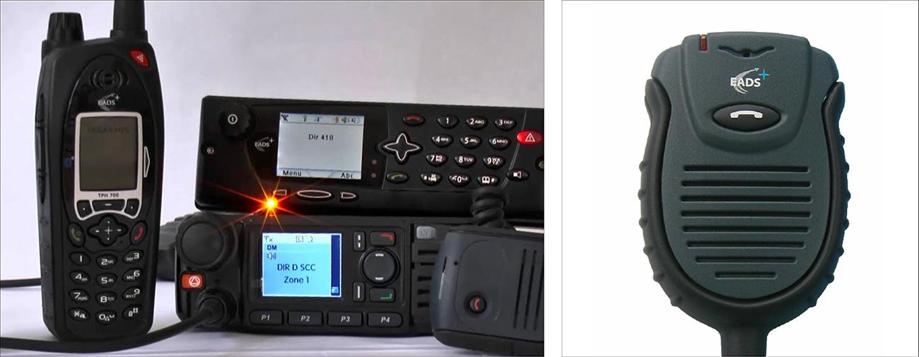 EADS, Gamme de terminaux professionnels de télécommunication mobile